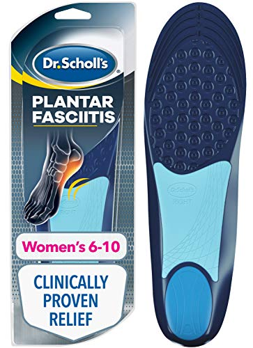 Dr. Scholl's Plantar Fasciitis Pain Relief Orthotics /Clinically Proven Relief and Prevention of Plantar Fasciitis Pain for Women's 6-10,