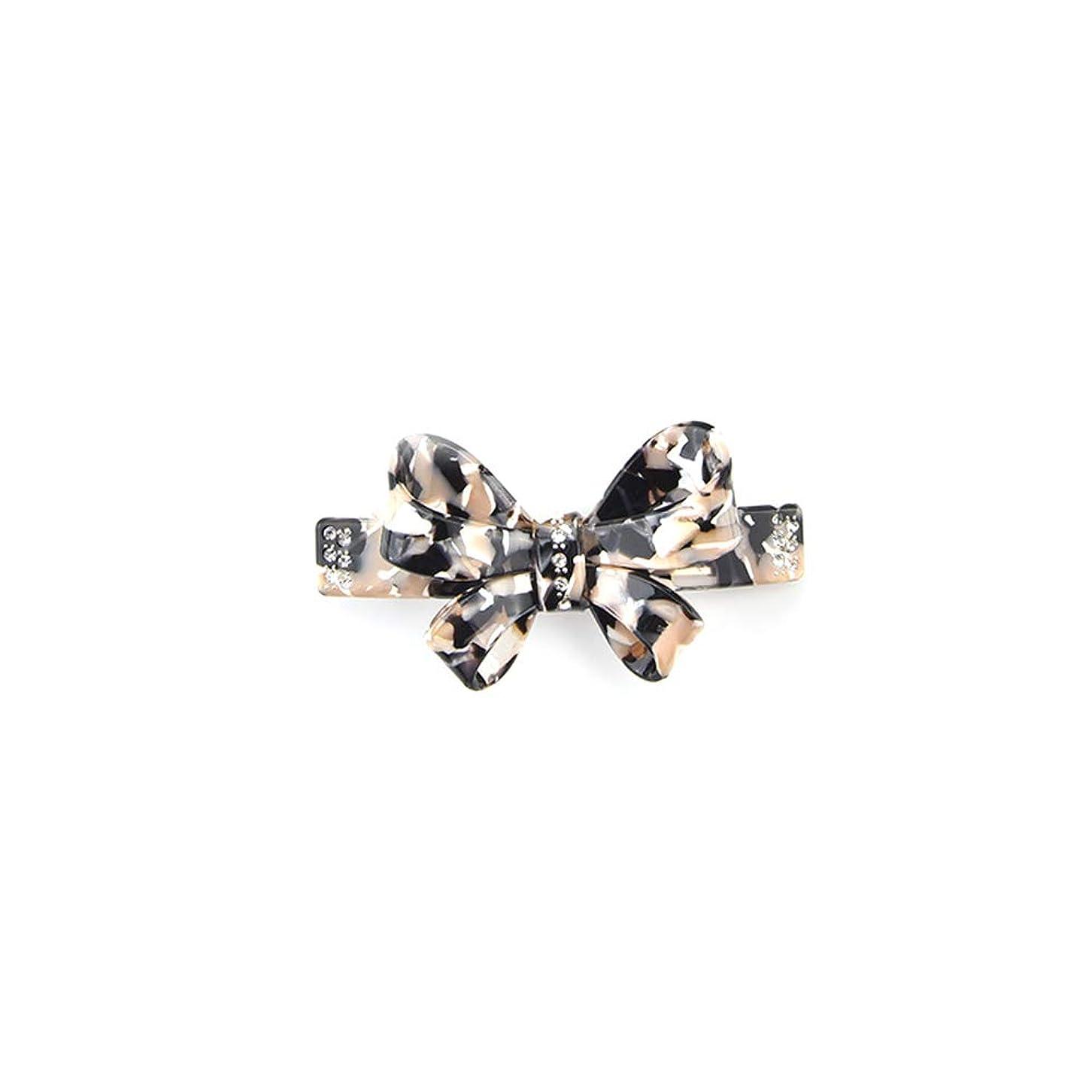 可聴ピアノカバーヘアピン弓ダイヤモンドスプリングクリップクラシックジュエリーヘアアクセサリーシンプルヘアクリップ,B