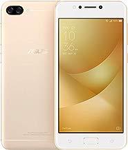 """Smartphone Asus Zenfone Max M1 32GB 2GB Tela de 5,2"""" Câmera Dual 13MP e 5mp Bateria 4100mah Dourado"""