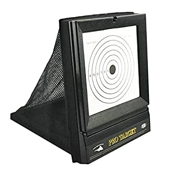 AirSoft Targets For Shooting   Reusable BB & Pellet Guns With Trap Net Catcher  Heavy-Duty Paper Sheets  Stand and Paper Training Target Easy to See Your Shots Land  For Indoor  Outdoor  Ranges