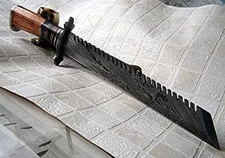 REG-324, Handmade Damascus Steel 17 Inches Hunting Knife...