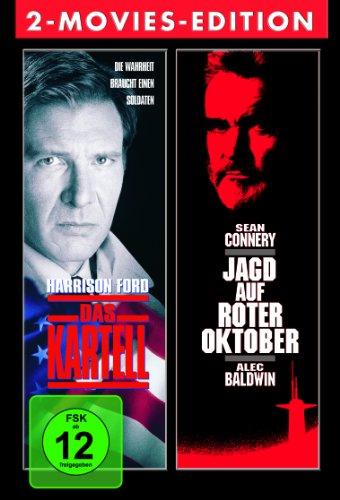 Political Thriller 2 Disc Boxset: Das Kartell & Jagd auf Roter Oktober [2 DVDs]