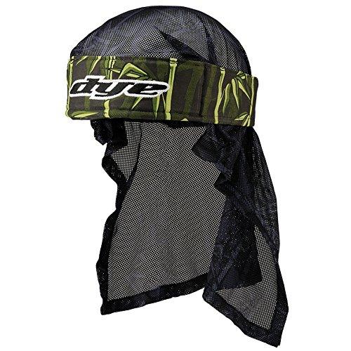 Dye Stirnband Head Wrap - Protecciones de Airsoft, Color Verde (Dunkel grün), Talla OneSize