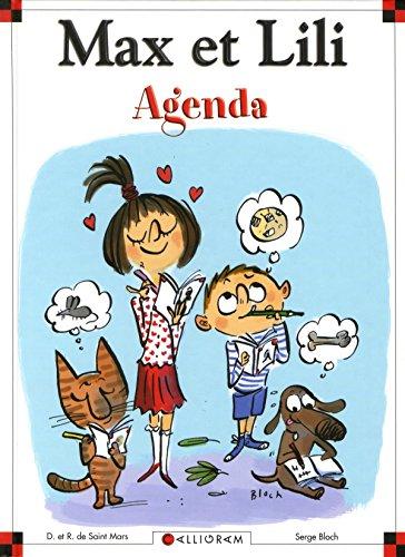Agenda Max et Lili