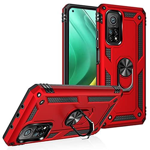 Fundas y Carcasas para teléfonos móviles Soporte anticaída blindaje montado en el automóvil Adecuado para Mi 10T Pro 5G / 10T 5G,Red,Xiaomi Poco X3 NFC