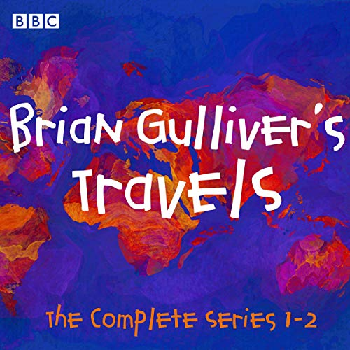 Brian Gulliver's Travels audiobook cover art