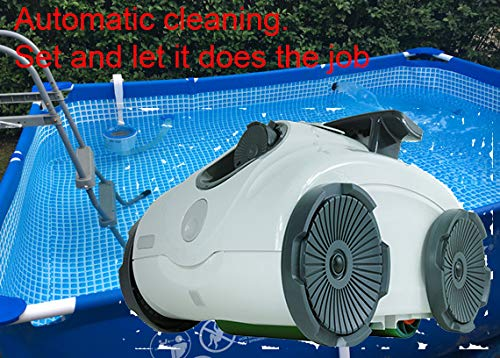 Check Out This EZ Care Robotic Pool Cleaner for Small Steel Frame or softside Pools Such as Intex or...