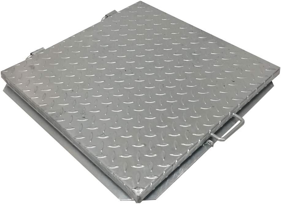 Einside - Tapa de cisterna, cierre de depósito galvanizado y moldeado, todas las dimensiones (30x30 cm)