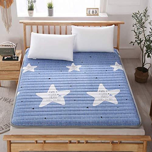 GLF Colchón de Suelo para Dormir, tapete de Tatami japonés, cómodo, portátil, colchón, tapete Plegable para el Suelo, Cama Perezosa para Dormitorio, Dormitorio H 180x200cm (71x79inch)