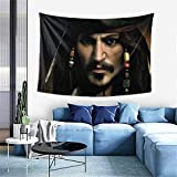 huancheng Tapiz de Piratas del Caribe, gran decoración de pared, arte de pared, decoración para el hogar, manta para dormitorio