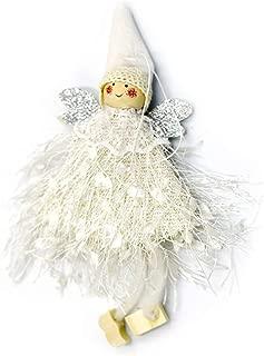 Best Quality Christmas Woolen Yarn Angel Doll Pendant Tree Decorations Navidad 2019, Yarn Christmas Ornament - Felting Wool In Needle Felting, Miniature Knit, Pleasant Company Sewing Pattern