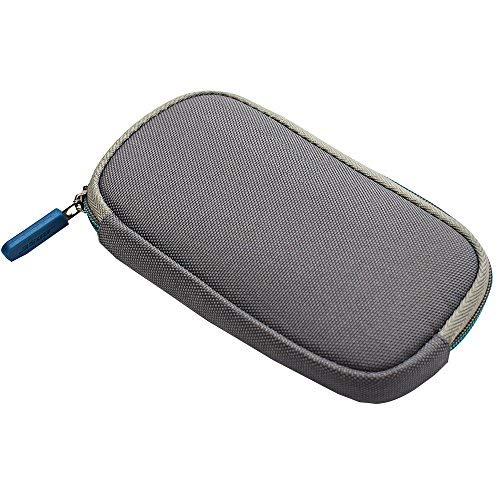 Learsoon Zipper Storage Case Cover Bag Pouch for Bose QC20 QC20i QuietComfort 20 Headphones (Grey)