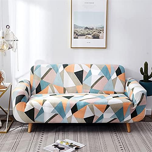 ZFDM Gedrucktes Sofa-Cover für Wohnzimmer Universal-Sektion Slipcover 13/3/3/4 Sitzer-Stretchcouch-Couch-Abdeckung für Wohnzimmer (Color : K780, Specification : 4 Seat 230 300cm)