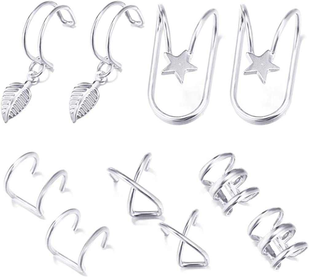 Ear Cuffs Outlet SALE for Women Non Men Conch Inexpensive Pierced Ears