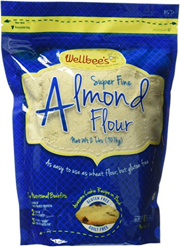 Wellbee's Super Fine Blanched Almond Flour/Powder 2 LB.
