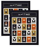 The Art of Magic Forever Stamps by USPS [2018 Release] (2 Sheets of 20)