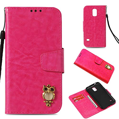 Luckyandery Galaxy S5 wallet case,Galaxy S5 Case folding, Book Cover Card&Cash Slots Kickstand Magnetic Closure Samsung Galaxy S5