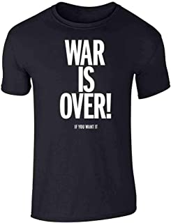 War is Over If You Want It Graphic Tee T-Shirt for Men