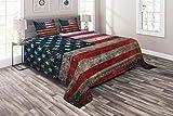 Ambesonne American Flag Coverl...