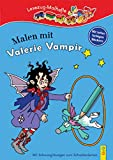Lesezug-Malheft: Malen mit Valerie Vampir - Irmtraud Guhe