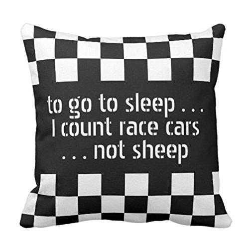 Checkered Flag Pillow Cover