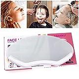 Kalolary 50 PCS Salon Shield, Trasparente per gli Occhi Copertura del Viso da Parrucchiere