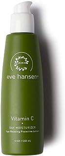 Eve Hansen Dermatologist Tested Vitamin C Moisturizer - Premium, Hypoallergenic, Fragrance Free Natural Face Moisturizer |...