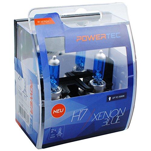 M-Tech PTZXB7-DUO Powertec Xenon Blue H7 12V DUO