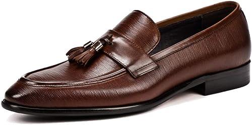 JCZR Herren Business Schuhe Wiesen Britische Quastenschuhe Aus