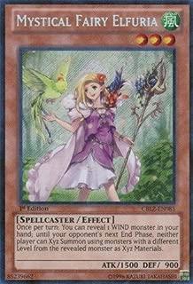 Yu-Gi-Oh! - Mystical Fairy Elfuria (CBLZ-EN085) - Cosmo Blazer - 1st Edition - Secret Rare by Yu-Gi-Oh!