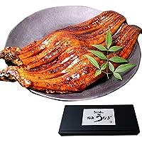 【 敬老の日ギフト 】ざこばの朝市 国産 特大 うなぎ 蒲焼 計約 400g (185g~215g) × 2本 山椒たれ 吸い物付き 鰻 高級 贅沢 ギフト