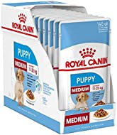 Royal Canin Medium Puppy Junior Wet Dog Food 40 Packs Of 140g Each For Puppies And Young Dogs Of Med...