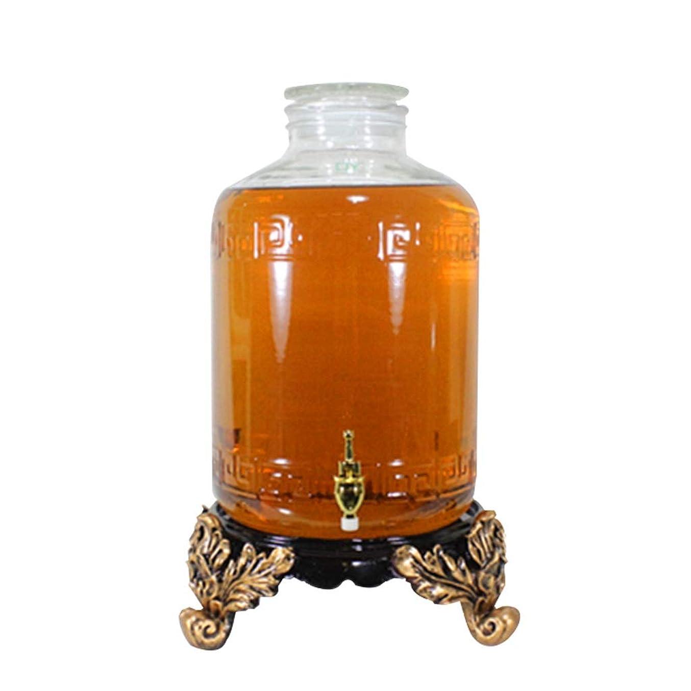 素朴なストレス眠っているつや消しボトル口ガラスボトルワインボトル薬瓶ステンレス鋼金メッキ蛇口 Xuan - worth having