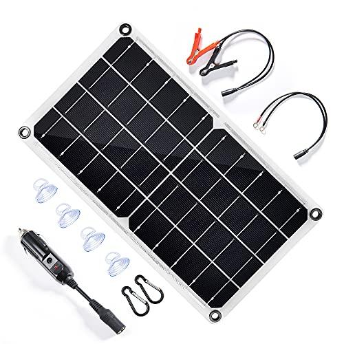 TP-solar 12V 10W Solar Autobatterie Ladegerät Tragbares Akku-Ladegerät Solarpanel