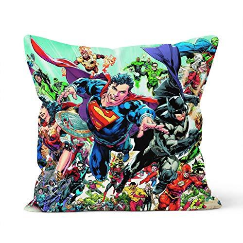 Funda de almohada de Marvel cómoda y agradable al tacto para almohada de coche de 40 x 40 cm