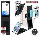 Hülle für Meizu M5c Tasche Cover Case Bumper | Schwarz