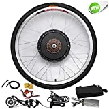"HanSemay 48V 1000W 26"" Electric Bike Conversion Kit, Rear Wheel Electric Bicycle Motor"