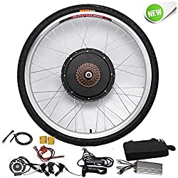 Powerful 48V 1000W Electric Bike Conversion Kit for Rear Wheel The electric bike kit contains everything you need (except battery) to make it your bike in a hoche performance, providing unparalleled performance and reliability. Note: When connecting ...