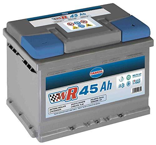 Tamoil Batteria per Auto WR 45 AH DX Longlife