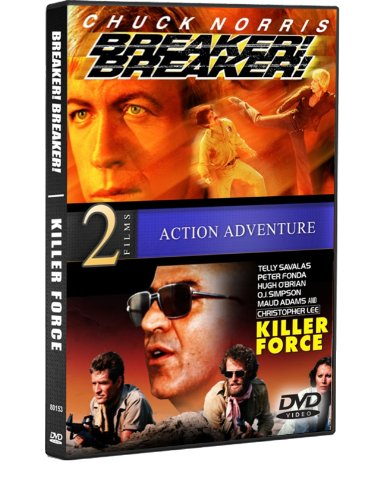 Breaker! Breaker! / Killer Force (Chuck Norris, George Murdock, Telly Savalas)