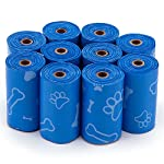 Best Pet Supplies Dog Poop Bags, Rip-Resistant and Doggie Waste Bag Refills with d2w Controlled-Life Plastic Technology - Pack of 150, Blue (Unscented) 5