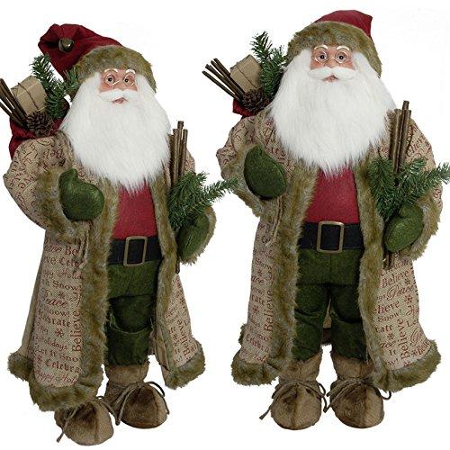 SSITG 80 cm - Décoration de Noël - Père Noël - Grande figurine de Noël (stock allemand 3-7 jours)