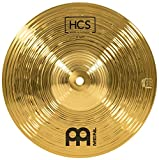 "Meinl Cymbals 10"" Splash Cymbal – HCS Traditional Finish Brass for Drum Set, Made In Germany,..."