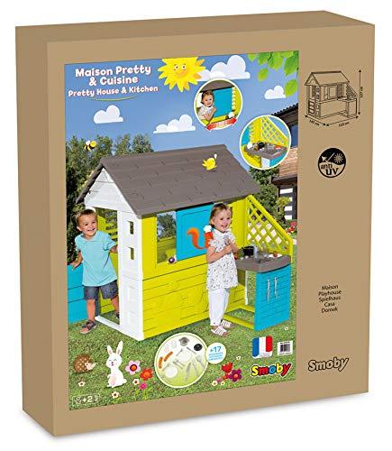Pretty Spielhaus mit Außenküche (Smoby) - 8