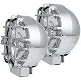 AnzoUSA 861095 Chrome 6' HID Off-Road Light with Cover - Pair