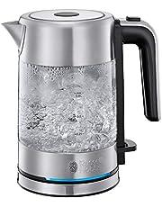 Russell Hobbs Compact Home 24191-70 – Hervidor de Agua (Eléctrico, 0.8 l, Acero Inox, 2200 W, Diseño Compacto, Cristal)
