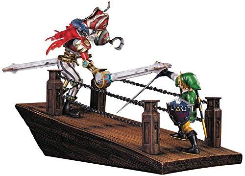 First 4 Figures The Legend of Zelda Skyward Sword Link vs. Scervo Diorama Statue