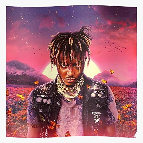ABCdesign Rap Rip Tentacion 999 Wrld XXX Juice Music Geschenk für Wohnkultur Wandkunst drucken Poster 11.7 x 16.5 inch