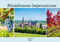 Rheinhessen-Impressionen (Wandkalender 2022 DIN A2 quer): Sehenswuerdigkeiten Rheinhessens und seine landschaftliche Schoenheit in Bildern (Monatskalender, 14 Seiten )