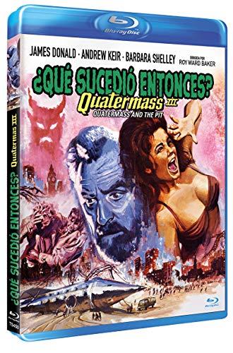 ¿Qué Sucedió Entonces? Quatermass 3 BD 1967 Quatermass and the Pit [Blu-ray]